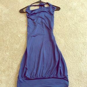 Blue dress never worn